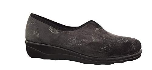 grau 710 Basso Romisana Romika 710 Grigio Donna 78 Collo Pantofole A zR8TX
