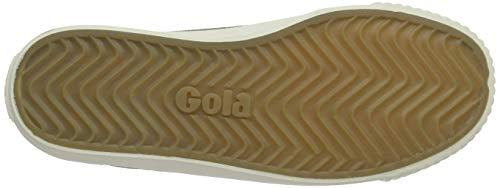 Cord Femme off Green White Nw khaki Gola Baskets Tiebreak WApn1ccf