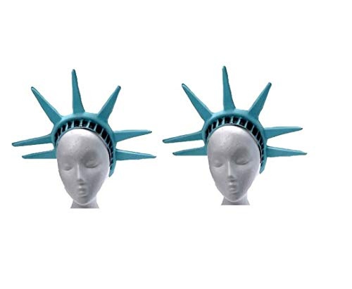 U.S. Toy Statue Of Liberty One Head Piece (2-Pack) -
