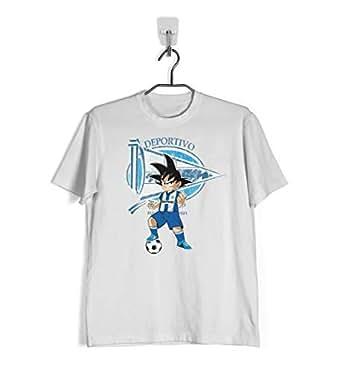 Ropa4 Camiseta Goku Deportivo Alavés 2018-2019 (M)