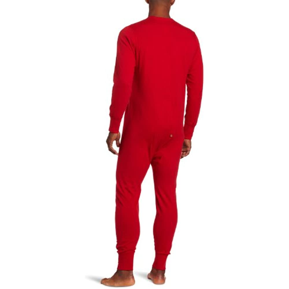 Duofold Mens Mid Weight Double-Layer Thermal Union Suit