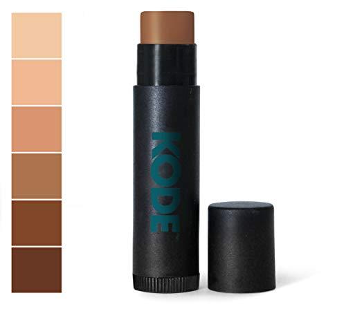 KODE Mens Concealer Stick for Blemish, Acne, Dark Circles, and Scars - Darker - 0.15 oz
