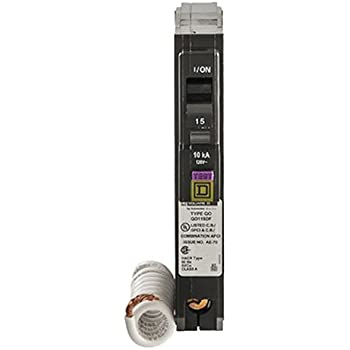 Square D By Schneider Electric QO 20 Amp Single Pole Dual Function CAFCI And GFCI Circuit Breaker