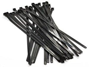 Amazon.com: Bluecell 30pcs 300mm Releasable/Reusable Plastic Zip ...