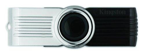 Kingston Digital 16GB DataTraveler 101 G2 USB 2.0 Drive - Black (DT101G2/16GBZET)