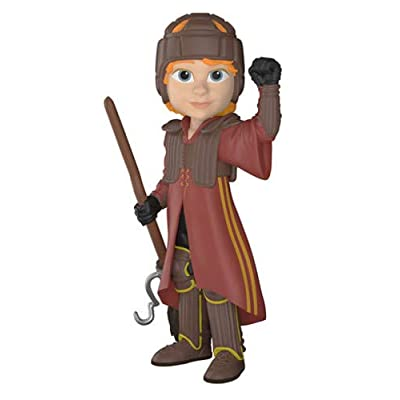 Funko Rock Candy: Harry Potter- Ron in Quidditch Uniform: Funko Rock Candy:: Toys & Games
