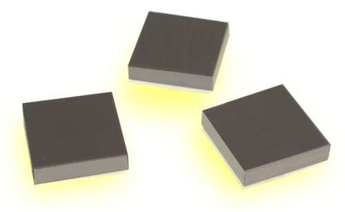 1x1 inch Adhesive backed Pack of 50 Magnetic Squares Flexible Magnets Lifts uo to 1//2 lb