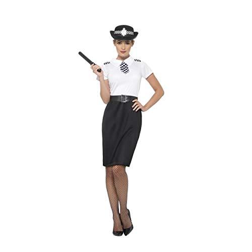 British Costumes Party - Smiffy's Women's British Police Lady Costume