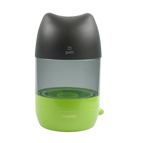 White paw EasyPaw Automatic Pet Paw Washer with Pet Food ...