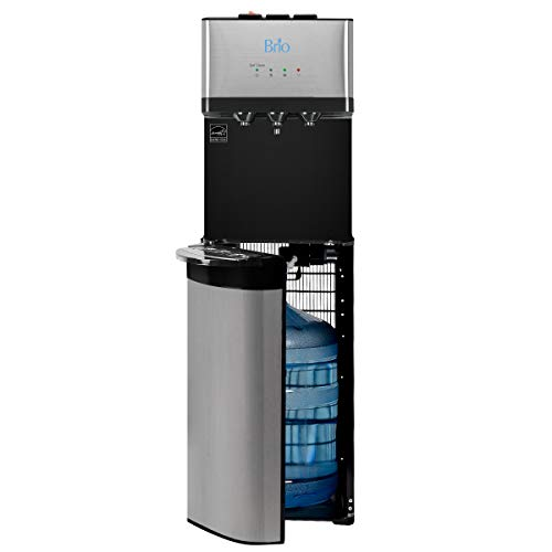 Brio Limited Edition Bottom Load Self Cleaning Hot, Cold & Room Water Cooler Dispenser - 3 Temperature Modes for Home or Office - UL/Energy Star Approved