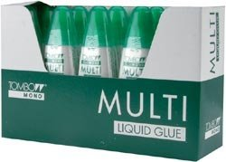 (Bulk Buy: Tombow Mono Multi Liquid Glue 10 Piece Display .88 Ounce 52190)