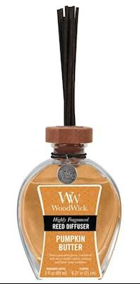 Pumpkin Butter WoodWick 3 oz Reed Diffuser