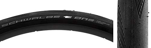 - Schwalbe One Clincher Road Bicycle Tire - Folding Bead (Black - 650x23C)