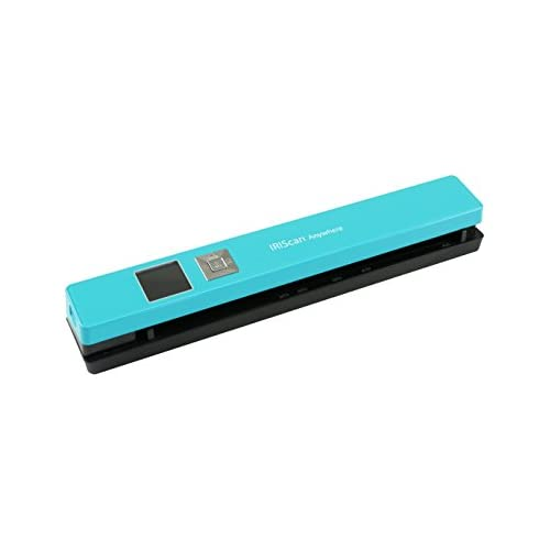 chollos oferta descuentos barato Iris IRISCan Anywhere 5 Escáner compacto y portátil USB batería 300 600 1200 paginas minuto pantalla a color TFT 3 6 cm Turquesa
