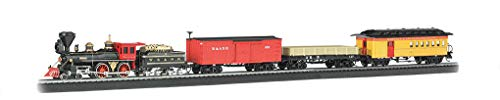 - Bachmann Trains - The General Ready To Run Electric Train Set - HO Scale