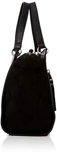 Zip x cm Black H bandoulière W 13x25x34 Sacs femme Look L Molly New Front Noir Ewvx7wS8q