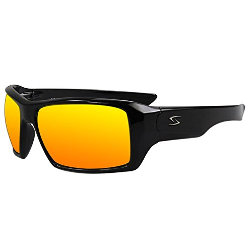 Serfas Auger Sunglasses with Grey Lens, Black, Universal - Serfas Sunglasses