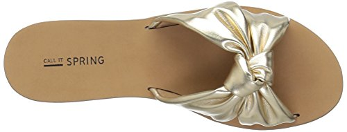 Women's Champagne Spring It Call Sandal Dwecien Slide TFfPqxw
