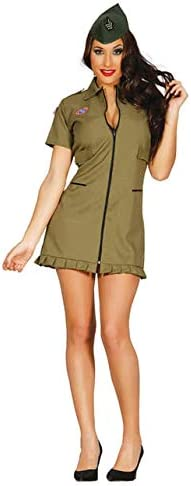 Disfraz de Militar Sexy para mujer: Amazon.es: Ropa y accesorios