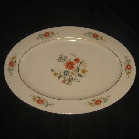 Lenox Temple Blossom Oval Platter