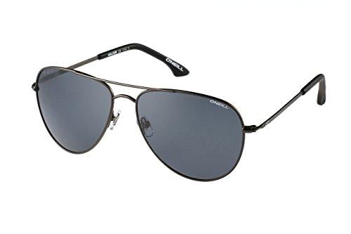 O'NEILL MAJOR 005P Aviator Matte Gun Sunglasses, Matte - Sunglasses Oneill
