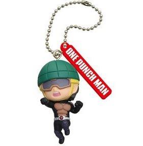 One Punch Man Figure Mascot Keychain Gashapon Pt 2 - Mumen Rider