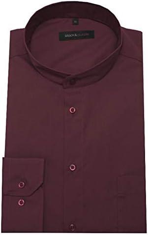 Huber Black Púrpura 0006 Cuello Alto Camisa Rojo Vino Burdeos Ajuste cómodo S hasta 5XL - Rojo, 6XL / 53/54: Amazon.es: Ropa y accesorios