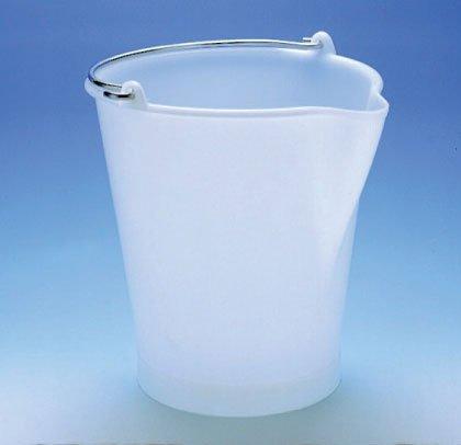 Cuisineonly - Seau gradué bec verseur plastique anse inox - 31.5 x 28 ø cm Cuisine : Ustensiles (Ustensiles plastique)