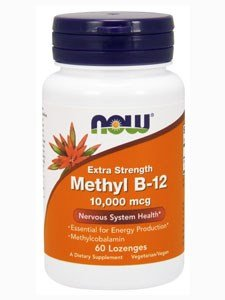 Methyl B-12, 10,000 MCG, 60 LOZENGES (Pack of 2)