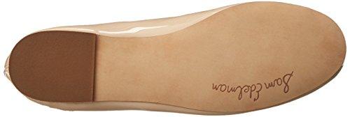 Sam Edelman Vrouwen Felicia Ballet Flat Naakt Linnen Patent