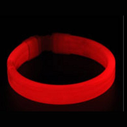 8 Inch Slap Bracelets Dazzling Toy Arm Bands Glow in the Dark for Parties Sports Camp (Taylor Swift Red Concert Costumes)