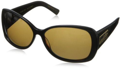 Black Flys Funk Fly Square Sunglasses,Black & Tort,61 - Sunglasses Funk