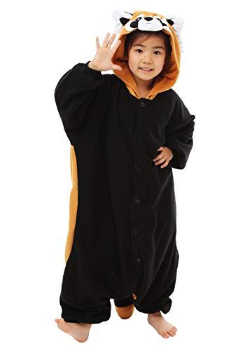 Red Panda Kids Kigurumi (5-9 -