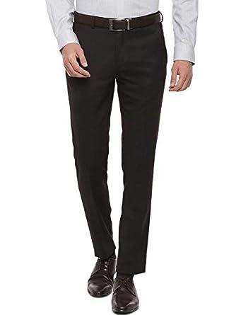 American-Elm Men's Slim Fit Cotton Formal Trouser   Formal Pants for Men