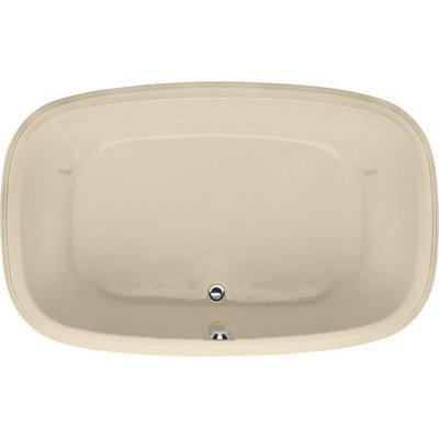 Designer sylvia soaking bathtub bone for Bathtub material comparison
