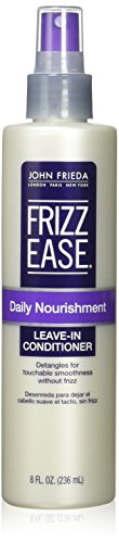 John Frieda Frizz-Ease Daily Nourishment Leave in Conditioning Spray, 8 oz, (pack of 2)