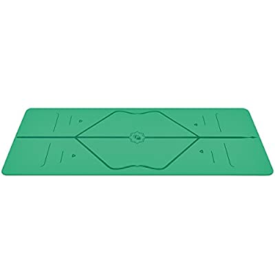 Liforme Travel Yoga Mat - The World's Best Eco-Friendly, Non Slip Yoga Mat with The Original Unique Alignment Marker System. Biodegradable Mat Made with Natural Rubber & A Warrior-Like Grip