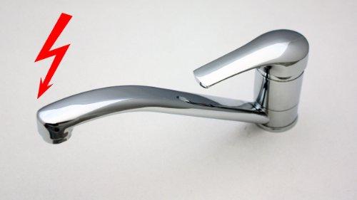 Niederdruck Spultischarmatur Wasserhahn Armatur Spultisch 200 7