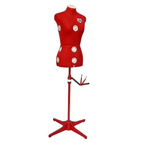 SINGER Red Dress Form