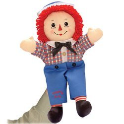 16 Raggedy Andy Hand Puppet by Applause