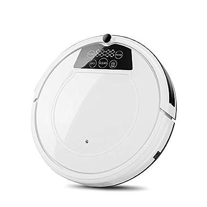 Robot aspiradora hogar Limpieza electrodomésticos 3 en 1 succión + barrendero + MOP LED Pantalla aspiradora