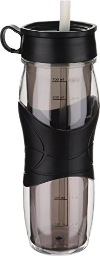 Trudeau 24 Ounce Hydration Bottle Black product image