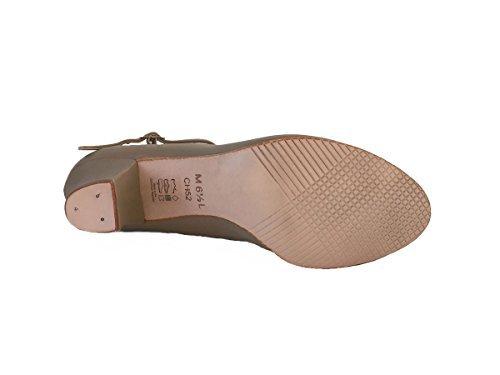 Donc Danca Ch52 Chaussure 2 Caractères (adulte 8.5, Tan)