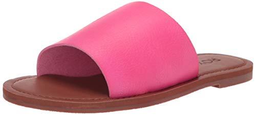 Roxy Women's Kaia Slide Sandal, hot Pink, 10 Medium US