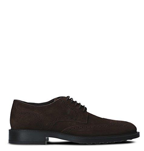 Chaussures Cuir À Lacets Marron Tod's XXM45A00C10RE0S800 Homme nqWfq4B