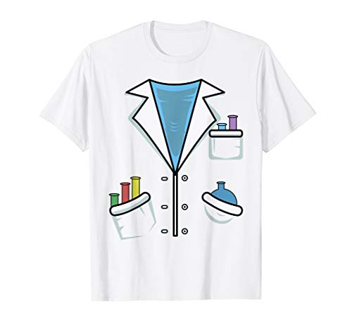 Funny Scientist Costume T-Shirt Chemist Science Halloween -