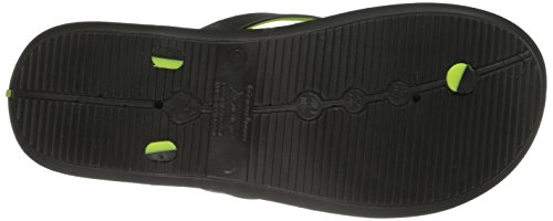 Rider Black R1 Sandal Green Men's 81093 Thong rBvrqTw