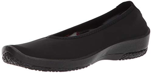 Arcopedico New Women's Lolita Slip On Ballerina Black 38