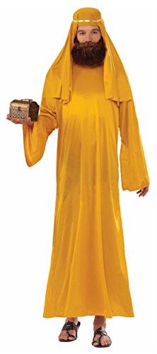 Forum Novelties Men's Forum Value Biblical Robe, Gold,