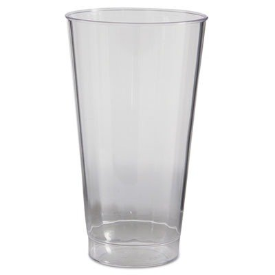 WNACC16240 - Classic Crystal Plastic Tumblers, 16 Oz., Clear, Fluted, Tall (16 Fluted Clear Oz)